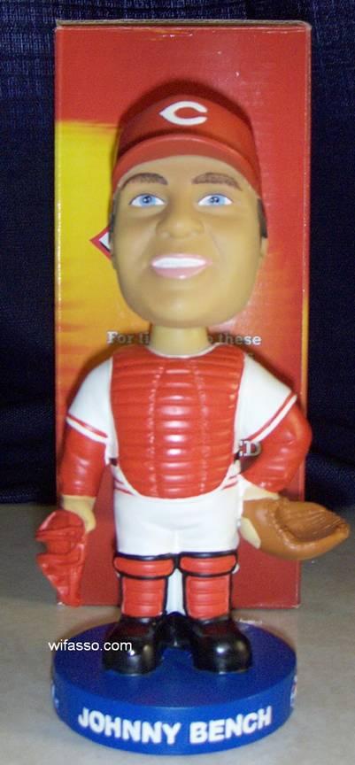 2002 Cincinnati Reds Sga Bobbleheads