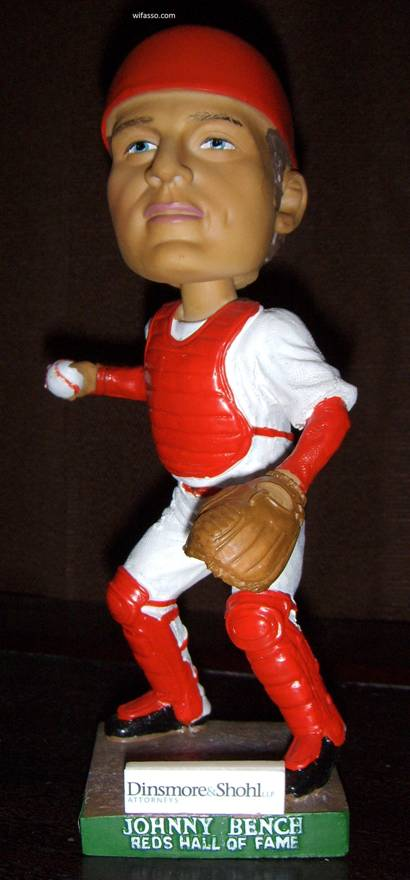 Cincinnati Reds Hall Of Fame Bobbleheads